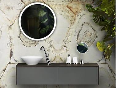 Mobile lavabo sospeso con cassetti CONO 02