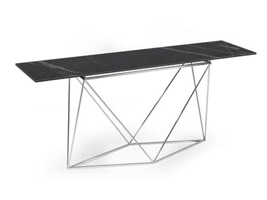 Rectangular ceramic console table UPTOWN | Console table