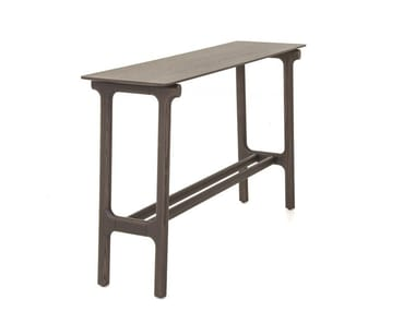 Rectangular wooden console table FUSHIMI | Console table
