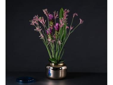 Vaso / contenitore in vetro a specchio CONTAINER LOW
