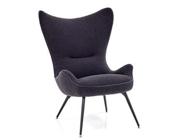 Wing fabric armchair CONTESSA 1956 | Armchair