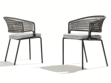 Garden chair with armrests CTR | Chair