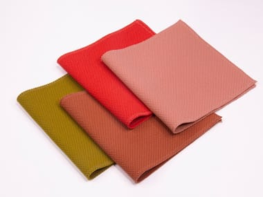 Solid-color polyester upholstery fabric CONTOUR