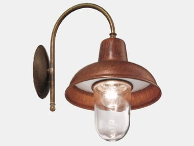 Direct light wall lamp with fixed arm CONTRADA 243.26.ORT
