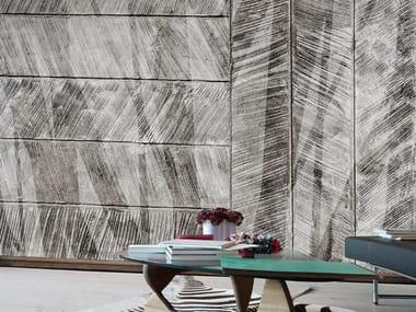 Papel de parede ecológico lavável livre de PVC estilo industrial CONTRAPPOSTE