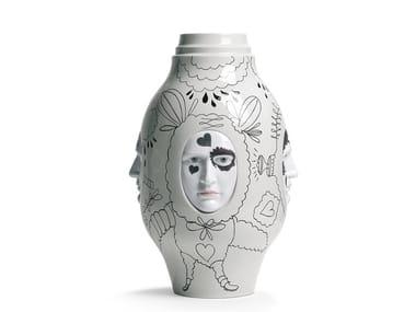 Porcelain vase CONVERSATION II | Vase