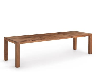 Extending wooden table COPENHAGEN EXT