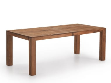 Rectangular wooden table COPENHAGEN