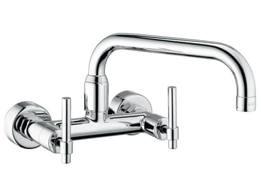 Wall-mounted kitchen tap with swivel spout CORA KITCHEN - 3662012