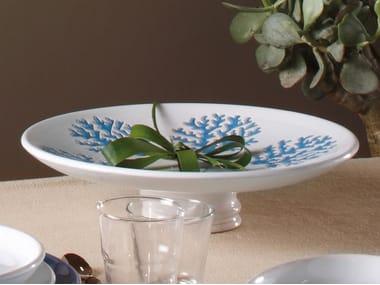 Round ceramic tray CORALLO   Tray