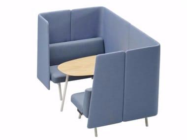 Sofa aus Stoff CORALS MEETING