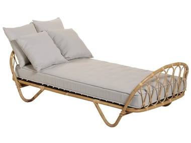Rattan single bed CORBEILLE | Bed