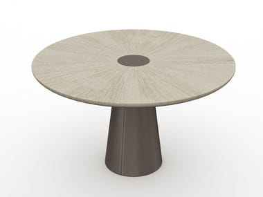 Round wooden table CORNEILLE | Table