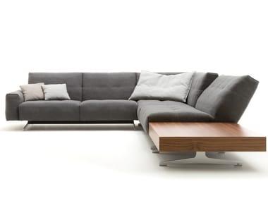 Canapé luge d'angle en tissu ROLF BENZ 50 | Canapé d'angle