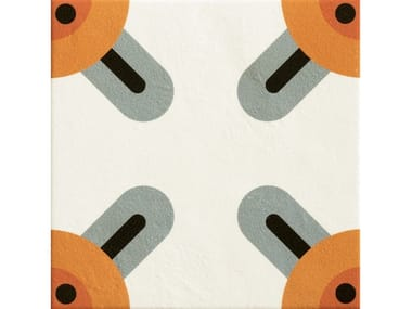 Glazed stoneware wall/floor tiles CORNERS