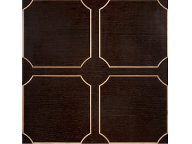Maple and wengè wall/floor tiles CORNICE
