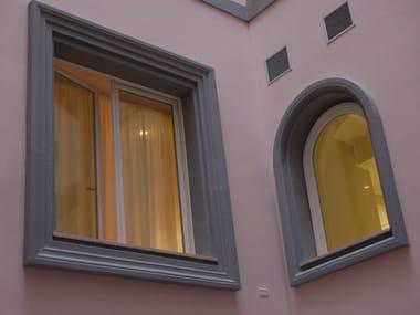 Cornici decorative in polistirolo (EPS) per facciate Cornici contorni per finestre