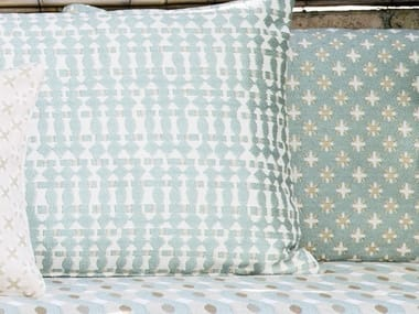 Anti-bacterial washable fabric with graphic pattern CORSARO
