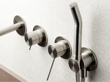 Stainless steel handshower with hose with bracket CORSIVO 01142-0711
