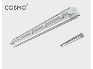 Polycarbonate ceiling lamp COSMO NOVA