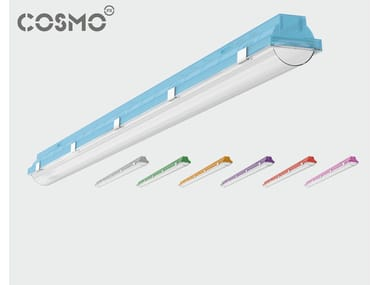 Polycarbonate ceiling lamp COSMO ORION