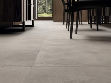 Full-body porcelain stoneware wall/floor tiles with terracotta effect COTTOFAENZA W