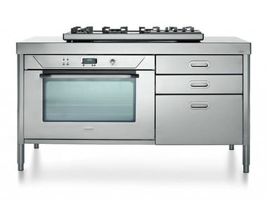 Professional stainless steel cooker COTTURA 160 | Cooker
