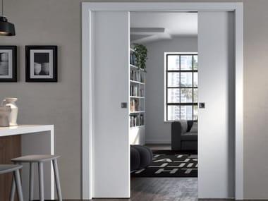 Controtelaio per porta scorrevole a doppia anta DOORTECH | Controtelaio per porta scorrevole a doppia anta