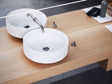 Countertop round washbasin BJHON 1 | Countertop washbasin