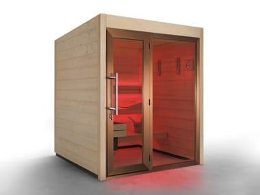 Finnish outdoor prefab sauna COUNTRY OUTDOOR