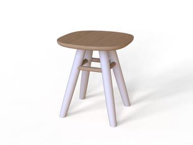 Oak stool COUNTY | Stool