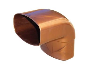 Curva per tubo pluviale COV87096R