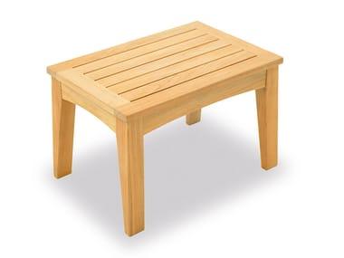 Tavolino da giardino in teak COVE | Tavolino