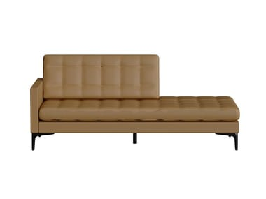 Tufted upholstered leather day bed COVER | Tufted day bed
