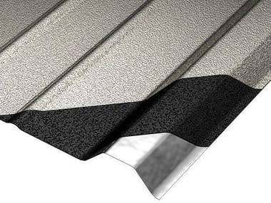 Metal sheet and panel for roof COVERIB 1000