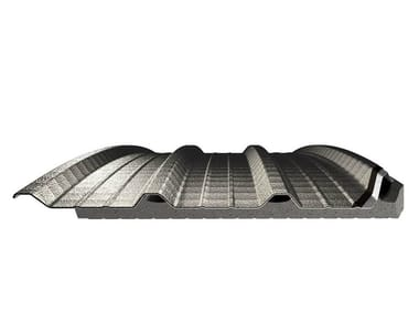 Steel Insulated metal panel for roof COVERPIÙ CURVABILE