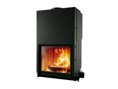 Wood-burning built-in fireplace CRISTAL 90
