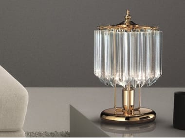 Glass table lamp CRISTALLI 5005 | Table lamp