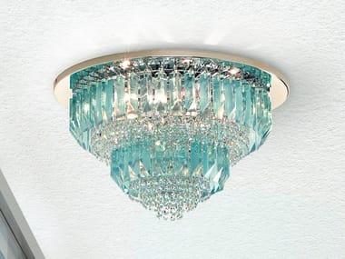 Lampada da soffitto in vetro CRISTALLI 6014