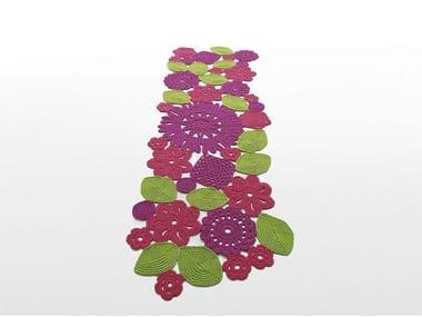 Tappeto Alluncinetto Rettangolare : Crochet tappeto rettangolare collezione high tech by paola lenti