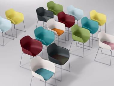 Restaurant chair CRONA LIGHT   Chair with armrests