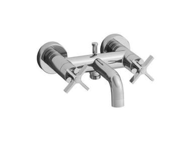 2 hole wall-mounted bathtub mixer CROSS ROAD | 2 hole bathtub mixer