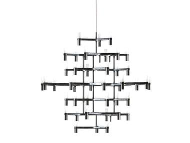 Die cast aluminium chandelier CROWN MAGNUM | Chandelier
