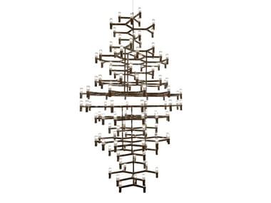 Die cast aluminium chandelier CROWN ROYAL | Chandelier