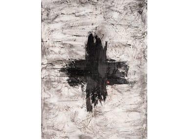 Canvas Painting Cruz Negra