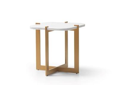 Tavolino di servizio in marmo CRUZ | Tavolino di servizio