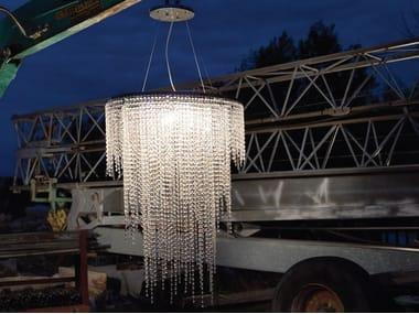 LED crystal pendant lamp CRYSTAL DREAM O | Pendant lamp