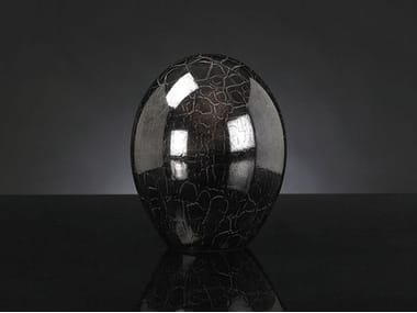 Glass decorative object CRYSTAL EGG