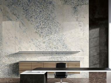 Pavimento/rivestimento in gres porcellanato effetto marmo CRYSTAL SKY