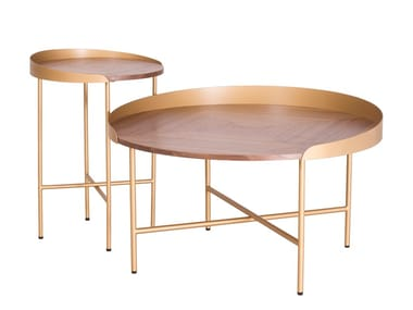 Round wooden coffee table CT-508 | Coffee table